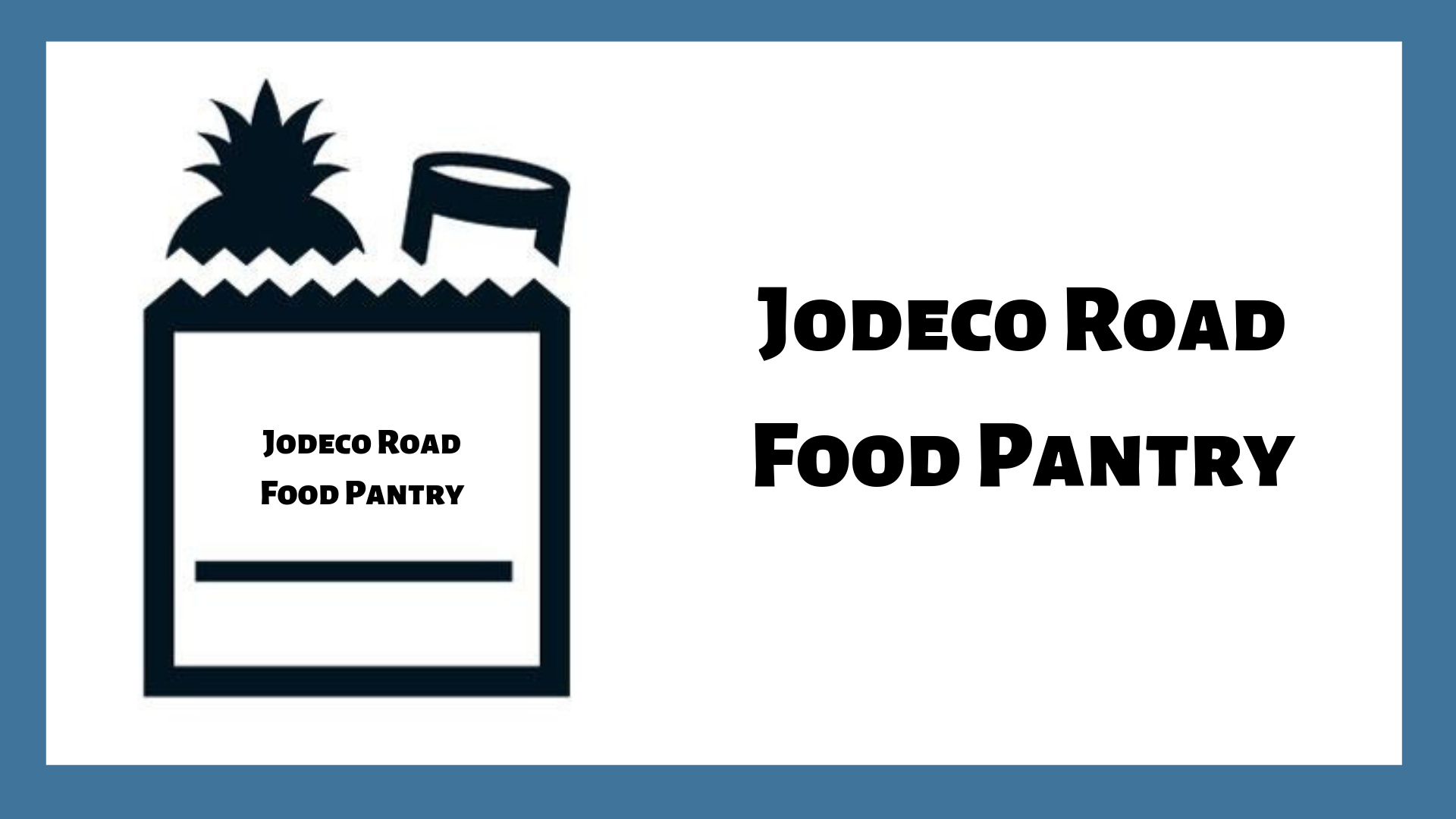 Jodeco Road Food Pantry
